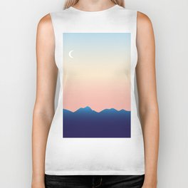 Hometown Sunset Biker Tank
