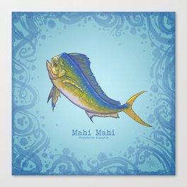 Mahi Mahi ~ Coryphaena hippurus ~ (Copyright 2015) Canvas Print