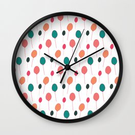Happy Balloons Wall Clock
