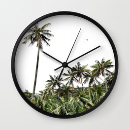 Palm Trees of Lord Howe Island Wall Clock