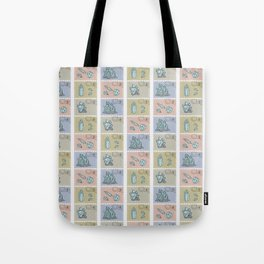 Minerology Quartz Crystal Postage Stamps Tote Bag