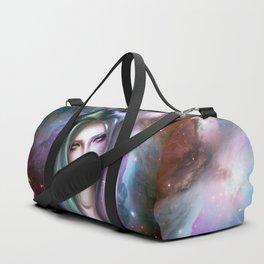 Galaxy Girl Duffle Bag