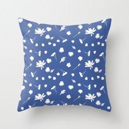 May Tuesday Daisies Throw Pillow