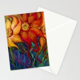 Three Sunflowers Stationery Cards