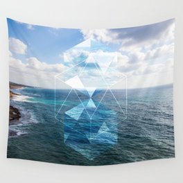 Sacred Geometry Seaview Wall Tapestry