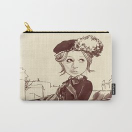 Unknown Woman Carry-All Pouch