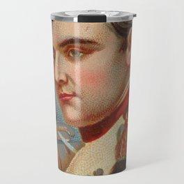 Vintage Napoleon Bonaparte Portrait Illustration (1888) Travel Mug