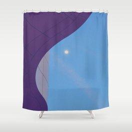 Lunar Curve Shower Curtain