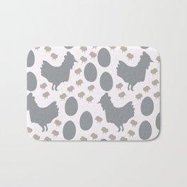 Spring Chicks Bath Mat