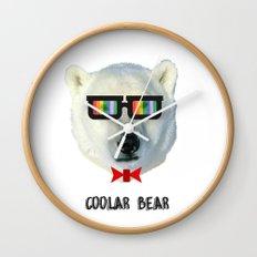 coolar bear Wall Clock
