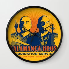 Salamanca Brothers Wall Clock