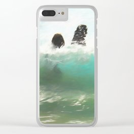 Still Taller Than The Wave Clear iPhone Case