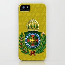 Dom Pedro II Coat of Arms iPhone Case