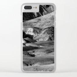 Driving across the Judean Desert Clear iPhone Case