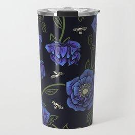 Midnight Hellebore Travel Mug