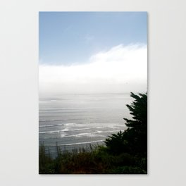 Pacific Ocean from Bolinas Canvas Print