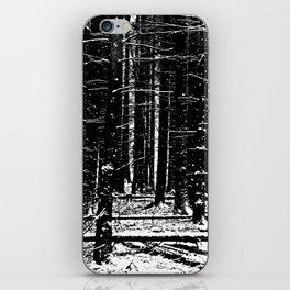 Forest Dark II iPhone Skin