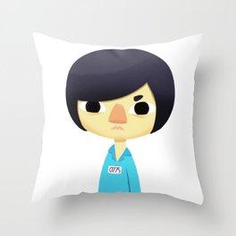 Prisoner 0775 Throw Pillow