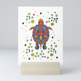 Painted Turtle Mini Art Print