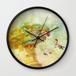 Round and Round Wall Clock