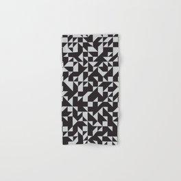 Girard Inspired Geometric Pattern Hand & Bath Towel