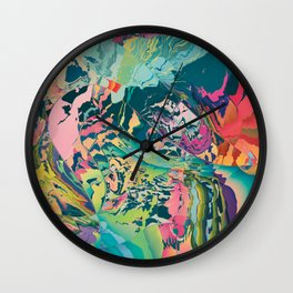 Treasures of the jungle Wall Clock