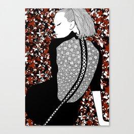 La femme 16 Canvas Print