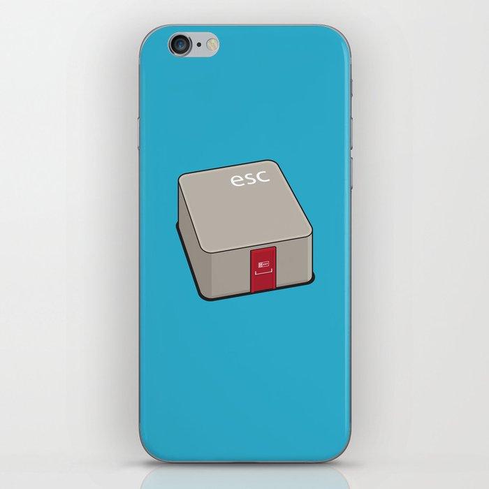 Escape Key iPhone Skin