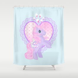 g1 my little pony lickety split Shower Curtain