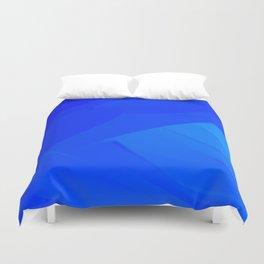 Dark Blue Backdrop Duvet Cover