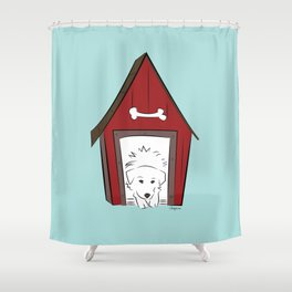 Home Sweet Great Pyrenees Home Shower Curtain