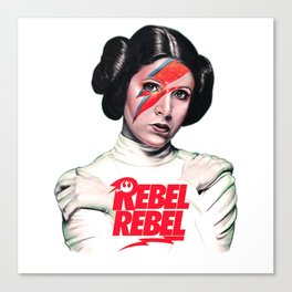 Princess Rebel Canvas Print