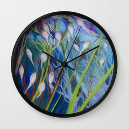 Sagebrush Sanctuary Wall Clock