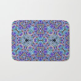 Persian kaleidoscopic Mosaic G509 Bath Mat