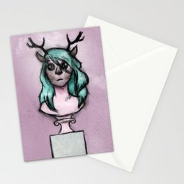 The Idols We Created in Our Bedrooms with Webcams and Makeup Palettes Stationery Cards