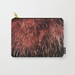 SPARKLING FIREWORK EXPLOSION Carry-All Pouch