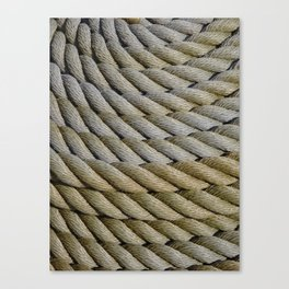 Coiled Rope Canvas Print