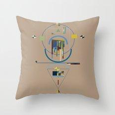 spiriti: j Throw Pillow