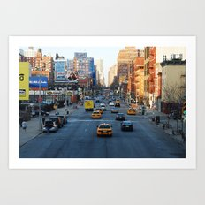 NYC high line Art Print