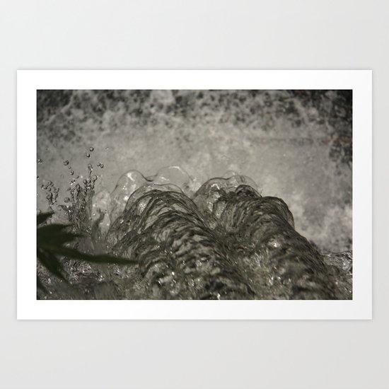 Over the Edge. Art Print