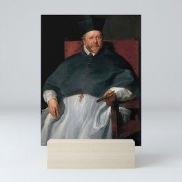 Anthony van Dyck - Bishop Jan van Malderen Mini Art Print