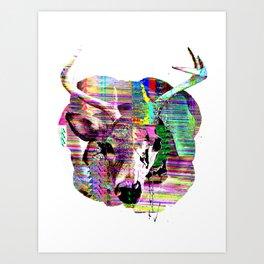 Half n Half Art Print