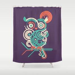Owl 2.0 Shower Curtain