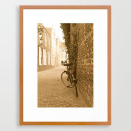 Bike Framed Art Print