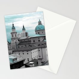 Salzburg in Turquoise Stationery Cards