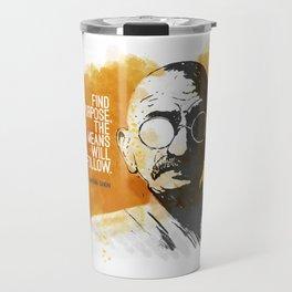 Purpose and Means Travel Mug