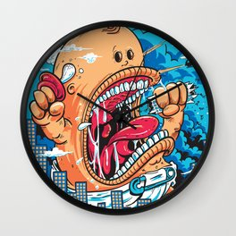 Momma's Boy Wall Clock