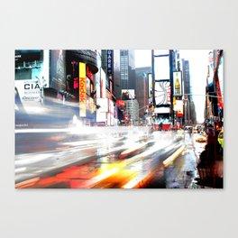 Time Square a go go Canvas Print
