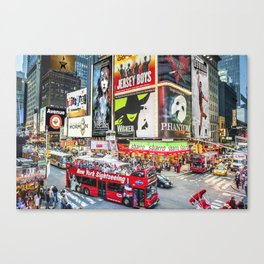 Times Square II Special Edition II Canvas Print