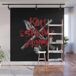 Kali Eskrima Arnis, Filipino martial art, FMA Fight Wall Mural